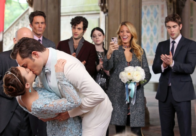 'Gossip Girl' films a wedding